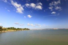 Seascape острова dadeng, самана rgb Стоковое фото RF