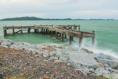 Seascape острова Samed стоковое изображение