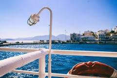 Seascape Отключение моря к Криту стоковое изображение rf