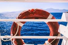 Seascape Отключение моря к Криту стоковая фотография rf