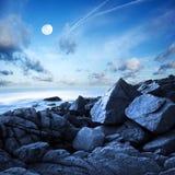 seascape утра Стоковое фото RF