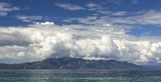 Seascape Хорватии панорамный Стоковые Изображения RF