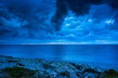 Seascape Хорватии Стоковые Фотографии RF