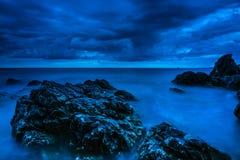 Seascape Хорватии Стоковые Фото