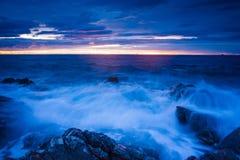 Seascape Хорватии Стоковые Изображения RF