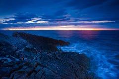 Seascape Хорватии Стоковые Изображения