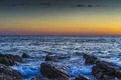 Seascape Хорватии Стоковое Изображение RF