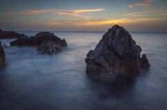 Seascape Хорватия Стоковое Фото