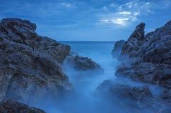 Seascape Хорватия Стоковые Изображения RF