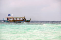Seascape. Old boat from south-east seas Stock Photography