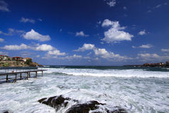 Seascape. Seascape one of the bays of Sozopol stock photos