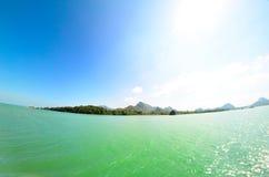 Seascape. Beautiful bright seascape (Thialand,Asia Stock Images