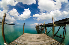 Seascape. Beautiful bright seascape (Thialand,Asia Royalty Free Stock Images