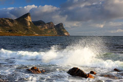 Seascape. Photo taken at Cape point South Africa Royalty Free Stock Photo