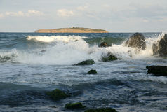 Seascape - 4 Στοκ Φωτογραφία