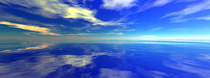 Seascape Foto de Stock Royalty Free