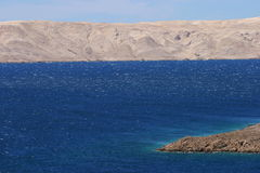 Seascape adriático Imagens de Stock Royalty Free