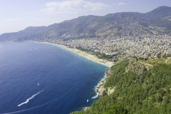 Seascape of Alanya Royalty Free Stock Photography