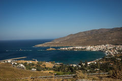 Seascape on Andros island, Greece Royalty Free Stock Photos