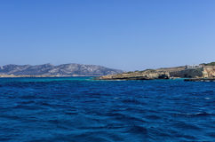 Seascape in Ano Koufonisi island, Cyclades Royalty Free Stock Photo