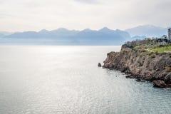 Seascape Antalya στην Τουρκία Στοκ Εικόνες