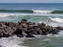 Seascape atlântico Fotos de Stock Royalty Free