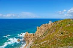 The seascape of Atlantic Ocean Royalty Free Stock Photo