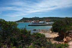 Seascape av Cannigione Fotografering för Bildbyråer