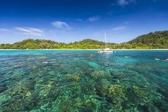 Seascape av den Koh Rok ön Royaltyfria Foton