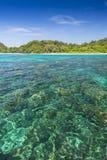 Seascape av den Koh Rok ön Fotografering för Bildbyråer