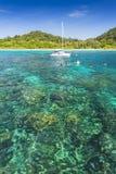 Seascape av den Koh Rok ön Royaltyfri Bild