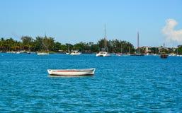 Seascape av Mauritius Island Royaltyfria Foton