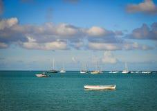 Seascape av Mauritius Island Fotografering för Bildbyråer
