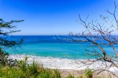 Seascape av Puerto Vallarta, Mexico Royaltyfri Fotografi