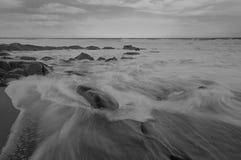 seascape Balito, zulu Natal, Południowa Afryka Zdjęcie Stock