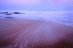 seascape Balito, zulu Natal, Południowa Afryka Zdjęcia Stock