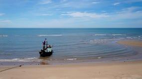 Seascape, barco Fotos de Stock