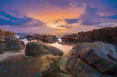 Seascape beautiful. Royalty Free Stock Photography