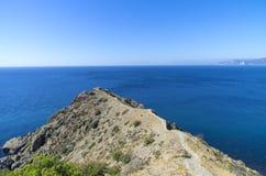 Seascape. The Black Sea coast. Royalty Free Stock Image