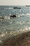 seascape on the Black Sea coast in Odessa Stock Photos