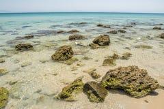 Seascape at Bolonia dunes Stock Photo