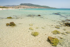 Seascape at Bolonia dunes Stock Photography
