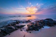 Seascape bonito. fotografia de stock royalty free