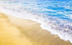 Seascape bonito Imagens de Stock Royalty Free
