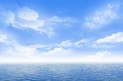 Seascape bonito ilustração stock