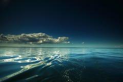 Seascape bonito. Composição natural da natureza imagem de stock royalty free