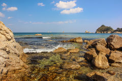 Seascape/bonito Primorye, Rússia Imagens de Stock Royalty Free