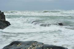 Seascape brać przy Południowa Afryka Zdjęcia Royalty Free