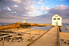 Seascape of Brittany ( France) Stock Images