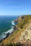 Seascape Cabo da Roca, Sintra, Portugalia Obrazy Royalty Free